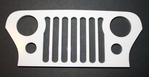 Jeep CJ Scale Grill
