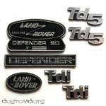 Land Rover Defender 90 Emblems