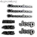 Jeep Cherokee XJ Emblems
