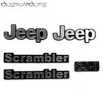 Jeep CJ-8 Scrambler Emblems