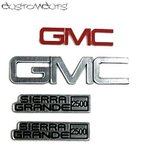 Tamiya Clodbuster GMC Fall Guy Emblems