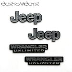 Jeep Wrangler Emblems